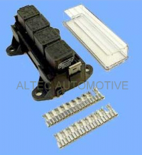 RELAY BOX for 4 Automotive 4 or 5 pin relays            <br>ALT/RB4U-01